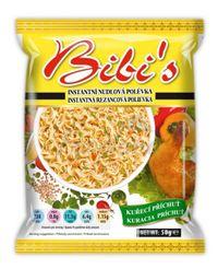 Instantná polievka kuracia príchuť - Bibi's - 50 g