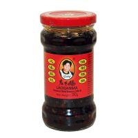 Čierne fazule v čili oleji LAO GAN MA 280 g