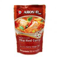 Hotové Thai Červené kari s kokosovým mliekom AROY - D 250 g