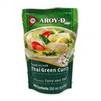 Hotové Thai Zelené kari s kokosovým mliekom AROY - D 250 g