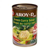 Hotová zelená kari polievka AROY - D 400 g