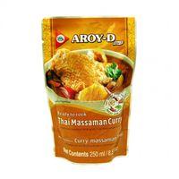 Hotové Thajské Massaman kari s kokosovým mliekom AROY - D 250 g