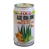 Nápoj Aloevera s medom FOCO 350ml