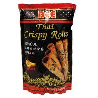 Thajské chrumkavé rolky s príchuťou banánu DEE 150g