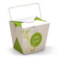 Box - Asia to go - Green Flower s rukoväťou 14301 - 16 OZ