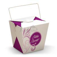 Box - Asia to go - Purple Flower s rukoväťou 14307 - 16 OZ