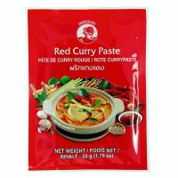 Červená kari pasta - COCK BRAND - 50 g
