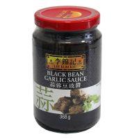 Čierna fazuľa omáčka s cesnakom LEE KUM KEE 368 g
