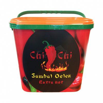 Čili pasta Sambal Oelek Extra hot - CHI CHI 10 kg