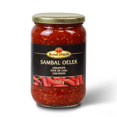 Čili pasta - Sambal Oelek - ROYAL ORIENT 720g