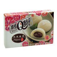 Japonský koláč Mochi s červenou fazuľou Q Brand 210g