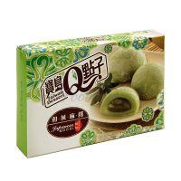 Japonský koláč Mochi s zeleným čajom Q Brand 210g