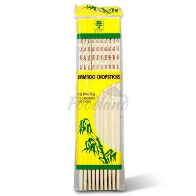 Jedálne bambusové paličky GOLDEN BANYAN 26,5 cm
