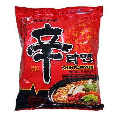 SHIN RAMYUN GOURMET SPICY Kórejské instantné rezance NONGSHIM 120 g