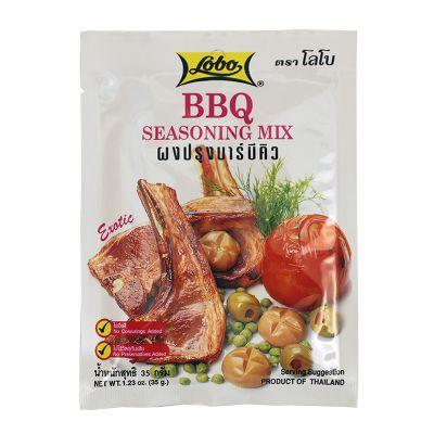 Koreniaca zmes BBQ - LOBO 35g