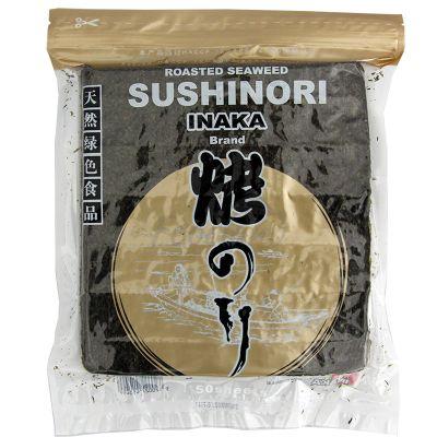 Morské riasy SUSHINORI na suši GOLD INAKA 50 listov