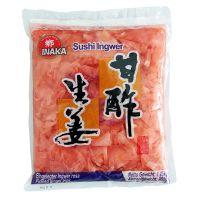 Nakladaný zázvor na suši - ružový INAKA 1,45kg