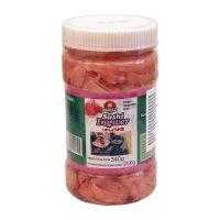Ružový nakladaný zázvor na suši INAKA 340 g
