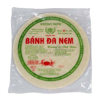 Ryžový papier na pražené jarné závitky TOTACO 250 g