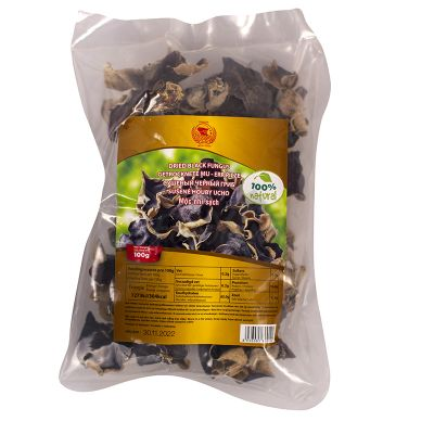 Sušené čierne huby (ucho Judášovo) PREMIUM 100 g